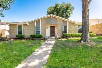 Mesquite Single Family Home Active Option Contract: 711 Via Sonoma