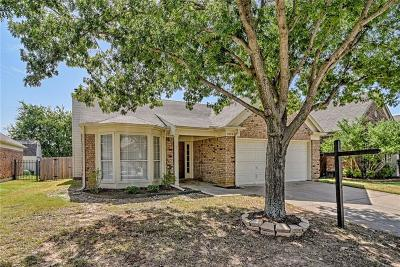 Watauga Single Family Home Active Option Contract: 7024 Wooddale Drive