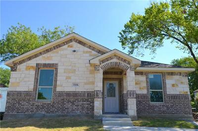 Dallas Single Family Home For Sale: 3006 Fernwood Avenue
