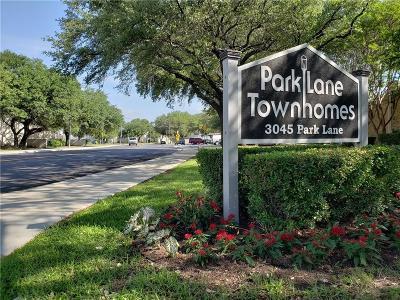 Townhouse For Sale: 3045 Park Lane #1034