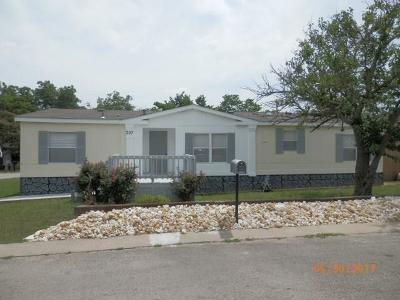 Joshua Single Family Home For Sale: 307 6th Street