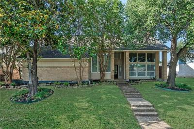 Plano Single Family Home Active Option Contract: 2004 Knob Hill Drive