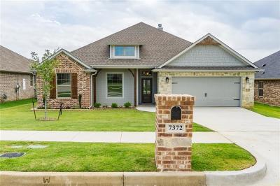 Tyler Single Family Home Active Contingent: 7372 Flat Rock Lane