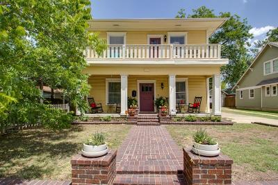 Fort Worth Single Family Home For Sale: 1957 Lipscomb Street