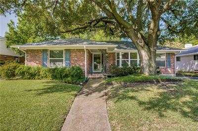 Dallas Single Family Home For Sale: 7306 Clemson Drive