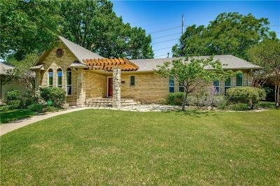 Dallas Single Family Home For Sale: 10021 Vistadale Drive