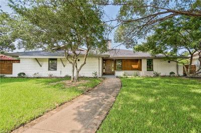 Dallas Single Family Home For Sale: 6815 Leameadow Drive