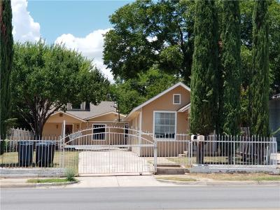 North Fort Worth Single Family Home Active Option Contract: 2213 Ellis Avenue
