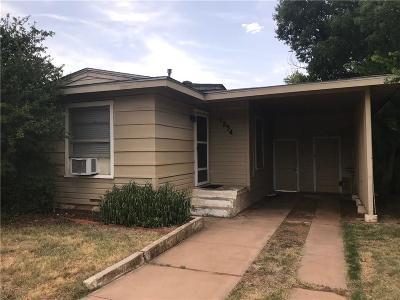 Abilene Single Family Home For Sale: 1234 Portland Avenue