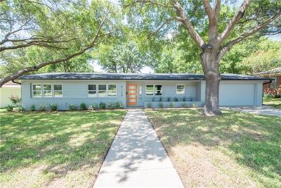 Dallas, Fort Worth Single Family Home For Sale: 4124 Middlebrook Road