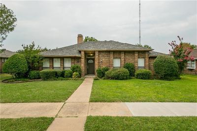 Carrollton Single Family Home Active Option Contract: 3109 Aspen