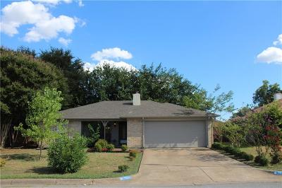 Fort Worth Single Family Home For Sale: 1821 Willow Park Drive