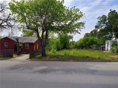 Tarrant County Residential Lots & Land For Sale: 1724 Stalcup Road