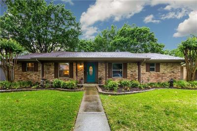 Single Family Home For Sale: 6477 Ridgemont Drive