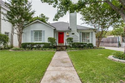 Dallas Single Family Home For Sale: 6310 Ellsworth Avenue