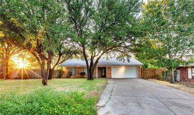 Cleburne Single Family Home For Sale: 1701 Pecan Drive