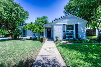 Fort Worth Single Family Home For Sale: 6456 Darwood Avenue