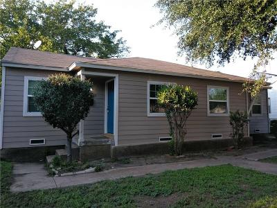Dallas Single Family Home For Sale: 2149 Stovall Drive