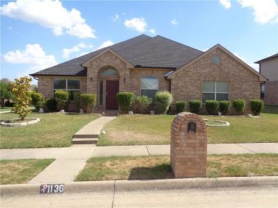 Desoto Single Family Home For Sale: 1136 Bordeaux Avenue