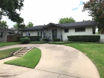 Dallas Single Family Home For Sale: 9426 Covemeadow Drive