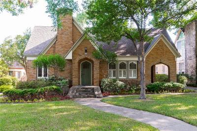 Dallas Single Family Home For Sale: 5343 Morningside Avenue