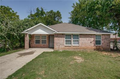 Dallas Single Family Home For Sale: 3115 Harmon Street