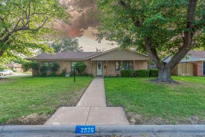 Abilene Single Family Home For Sale: 2926 Ivanhoe Lane