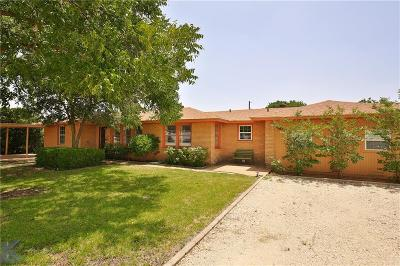 Abilene Single Family Home For Sale: 5542 Us Highway 277 S