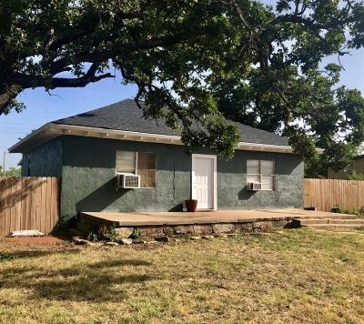 Cisco Single Family Home For Sale: 506 W 2nd Street