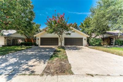 Dallas Half Duplex For Sale: 4972 Thunder Road