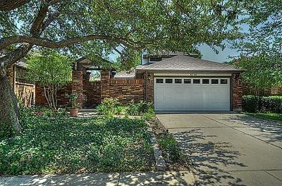 Plano Single Family Home Active Option Contract: 6716 Roman Court