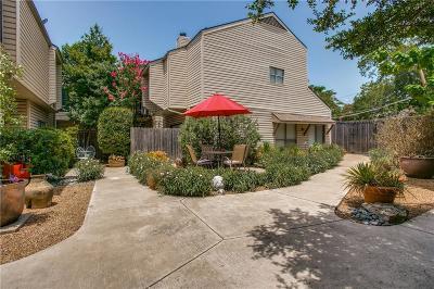 Dallas Townhouse For Sale: 5018 Cedar Springs Road