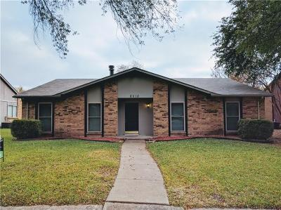 Rowlett Single Family Home For Sale: 8518 Chesham Drive