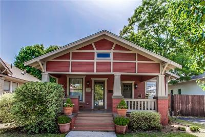 Fort Worth Single Family Home For Sale: 1617 Hurley Avenue