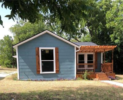 Weatherford Single Family Home For Sale: 116 W 7th Street