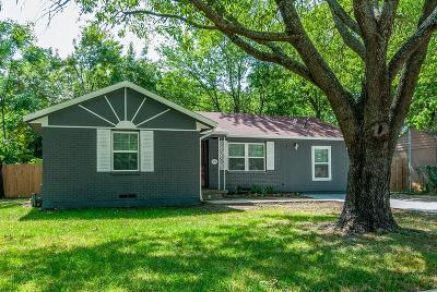 Arlington Single Family Home Active Option Contract: 504 Overhill Drive