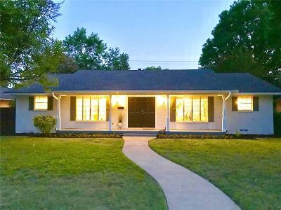 Dallas Single Family Home For Sale: 5732 Everglade Road