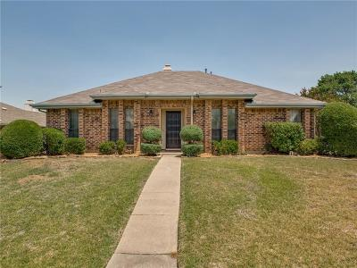 Dallas County, Denton County Single Family Home Active Option Contract: 1733 Saint James Drive