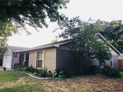 Burleson Single Family Home Active Option Contract: 746 James Circle