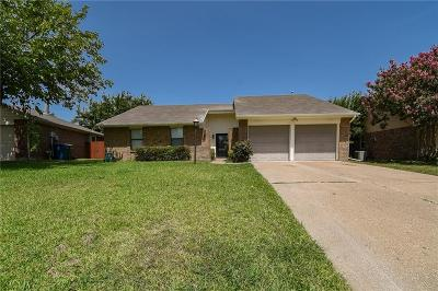 Flower Mound Single Family Home Active Option Contract: 5009 Coker Drive