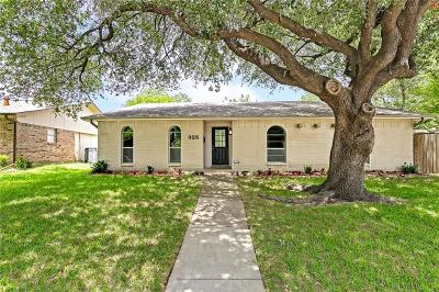 Garland Single Family Home Active Option Contract: 325 Nettle Drive