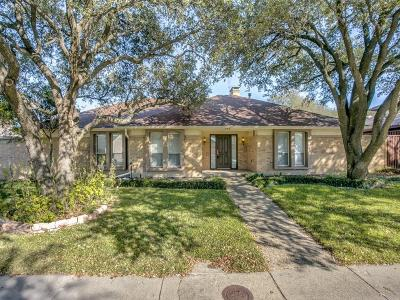 Dallas Single Family Home For Sale: 7109 Manor Oaks Drive