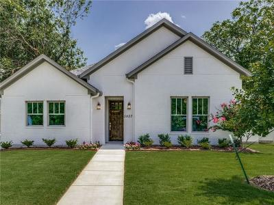 Tarrant County Single Family Home For Sale: 5857 Straley Avenue