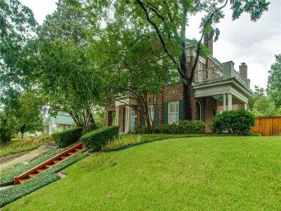 Fort Worth Single Family Home For Sale: 2232 Glenco Terrace