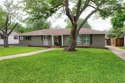 Dallas, Addison Single Family Home For Sale: 10117 Rockmoor Drive
