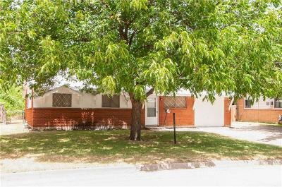 Haltom City Single Family Home For Sale: 4601 Stanley Keller Road