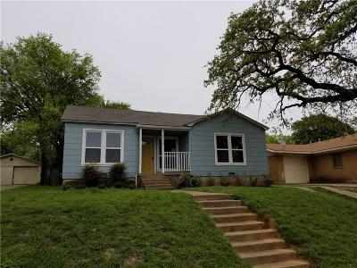 North Fort Worth Single Family Home For Sale: 1114 Terrace Avenue