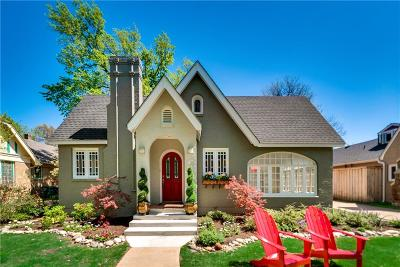Fort Worth Single Family Home For Sale: 2533 Greene Avenue