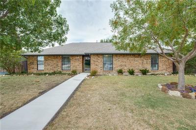 Carrollton Single Family Home Active Option Contract: 1626 Walker Drive