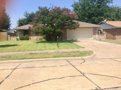Rowlett Single Family Home Active Option Contract: 2605 Baylor Drive